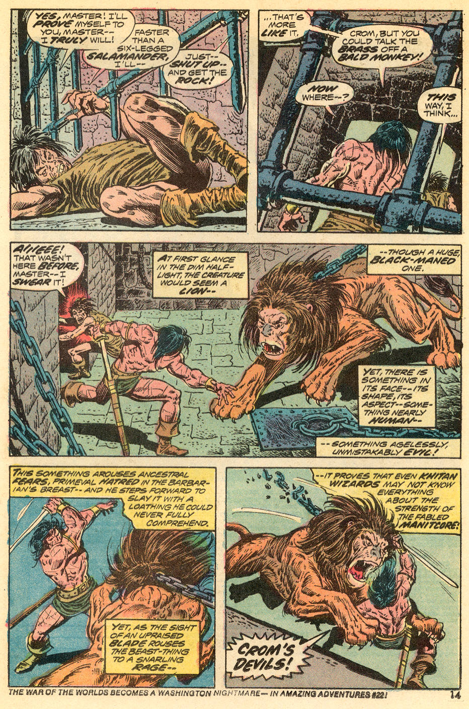 Conan the Barbarian (1970) Issue #34 #46 - English 9