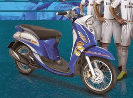 Yamaha Fino FI Real Madrid