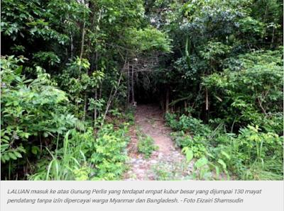 Penemuan Kubur Besar Beramai-Ramai Di Padang Besar