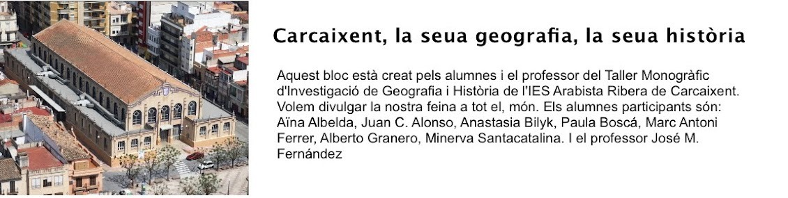 Carcaixent, la seua geografia, la seua història