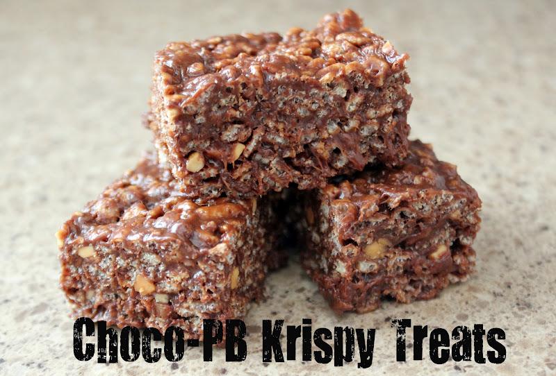 Risc handmade choco pb rice krispy treats for Best rice krispie treats variations