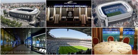 Tempat wisata di Madrid Stadion Real Madrid Santiago Bernabeu