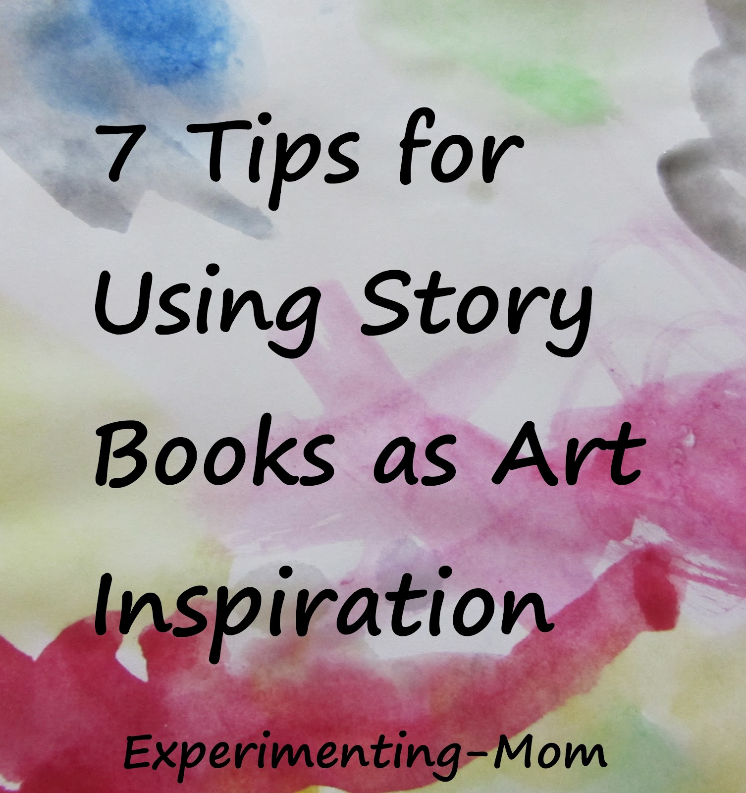 Using Story Books As Art Inspiration