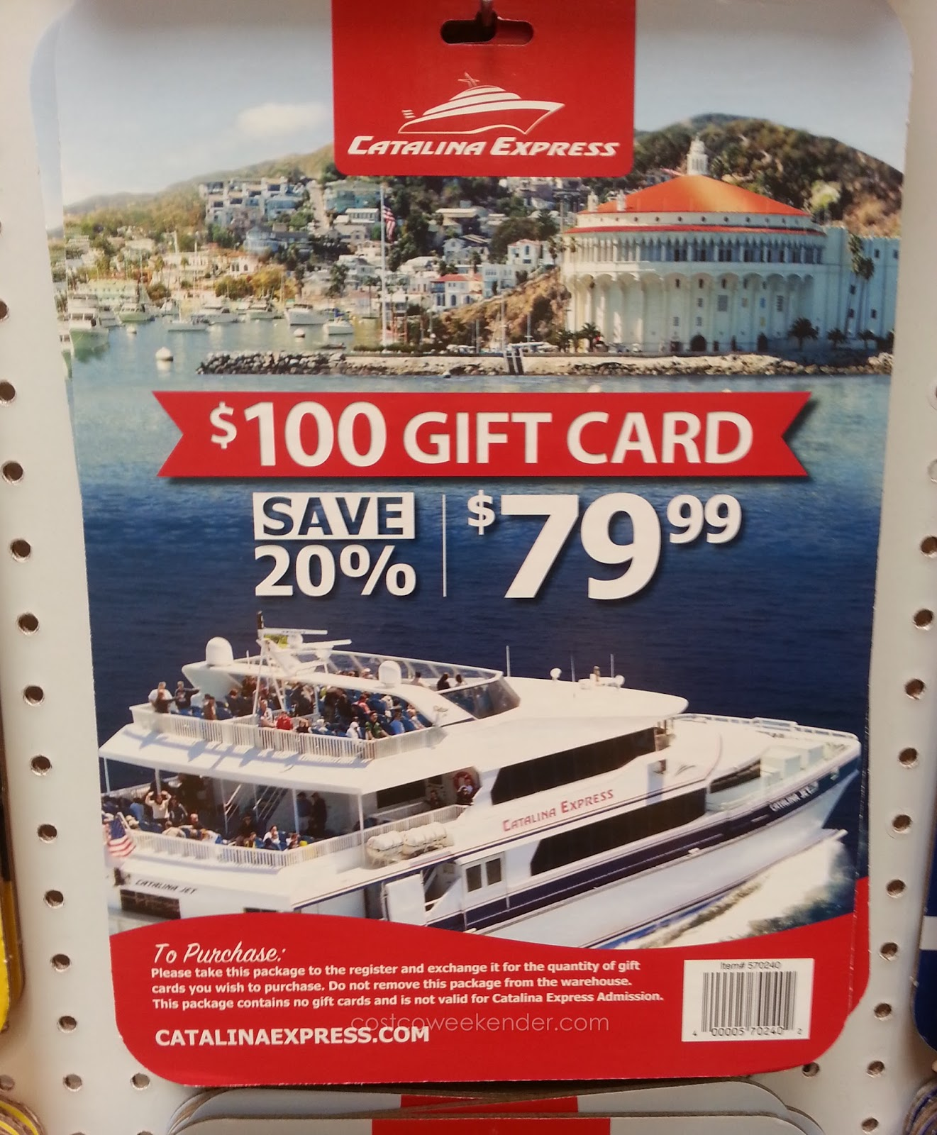 Enjoy a nice day trip on Catalina Island with Catalina Express