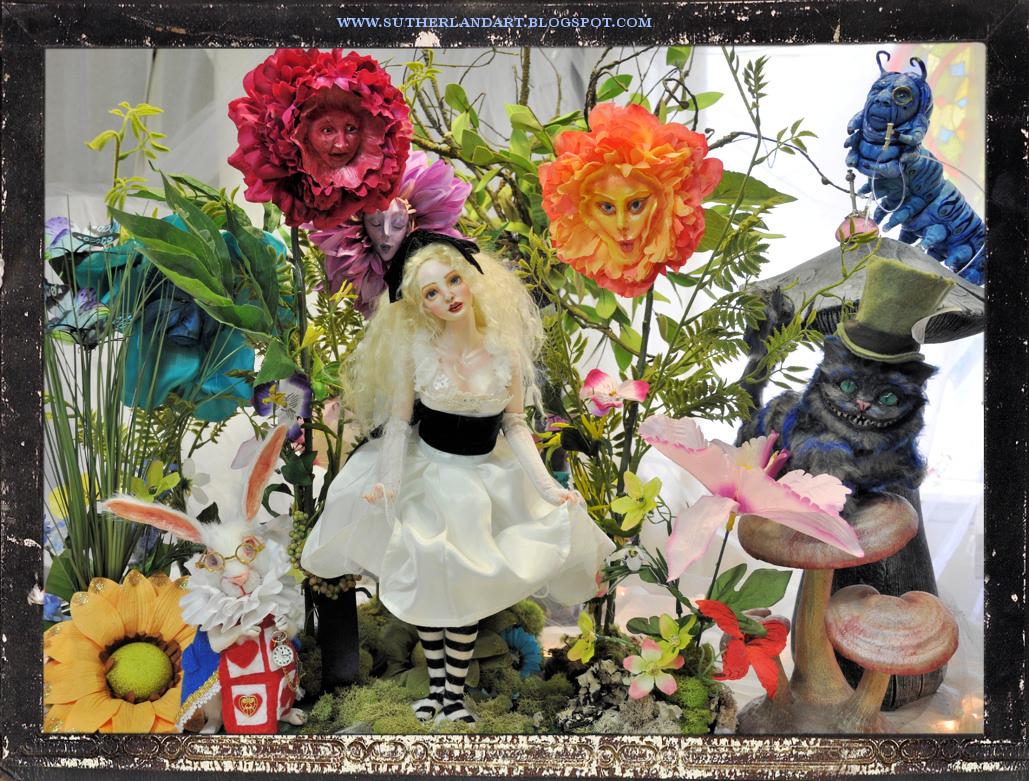 Sutherland art Enter the world of Wonderland