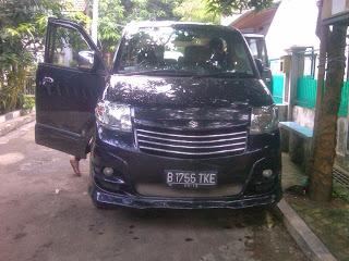 Pengiriman Suzuki APV B 1756 TKE Jakarta Makasar