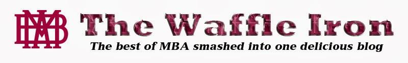 The MBA Waffle Iron