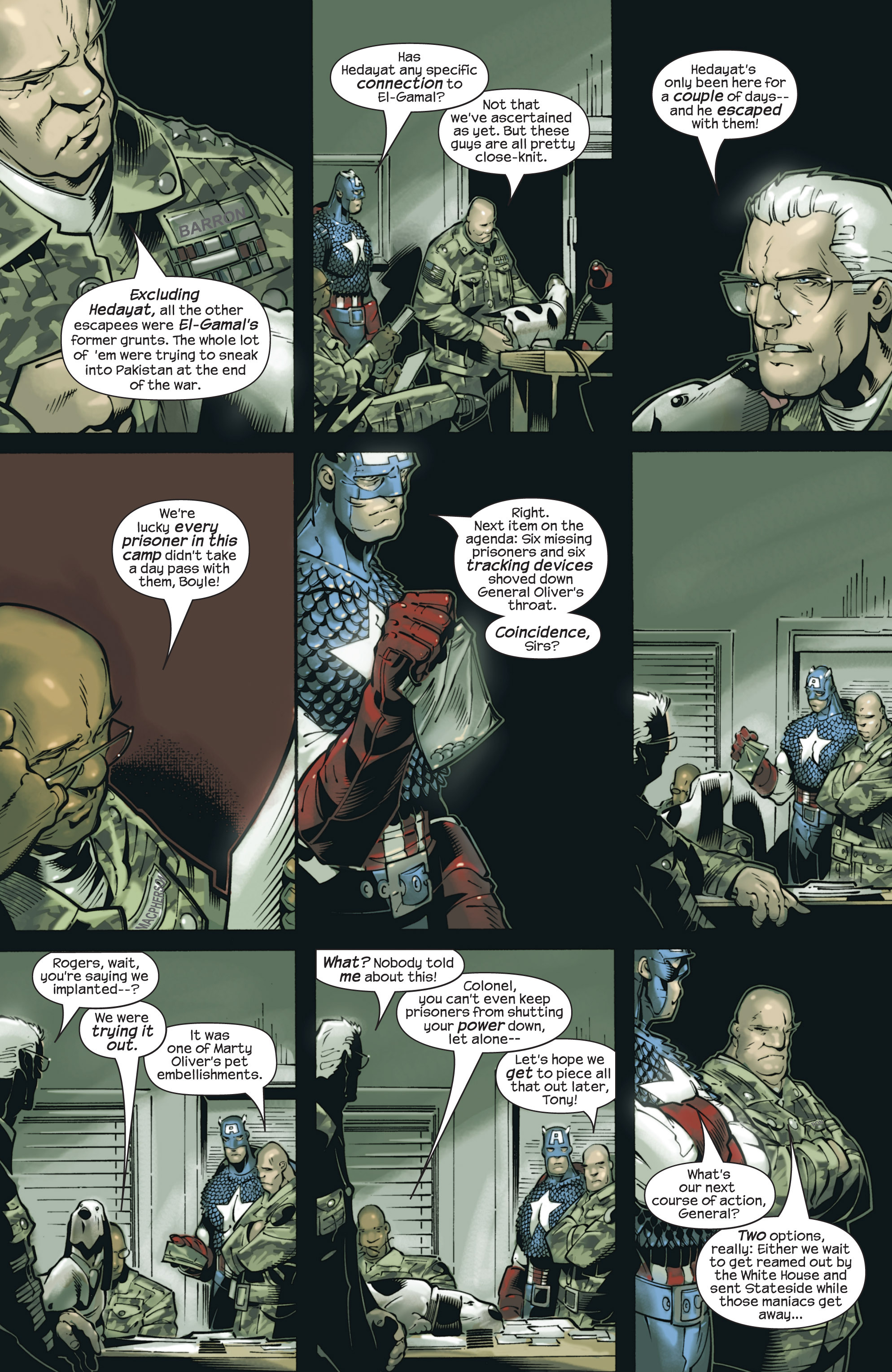 Captain America (2002) Issue #23 #24 - English 10