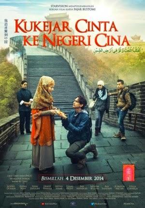 Film Kukejar Cinta Ke Negeri Cina 2014 di Bioskop