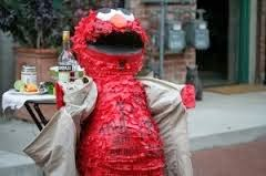 Anti-Semitic Elmo? Man who dressed as Elmo sent to prison.