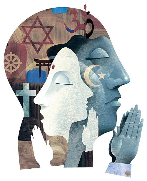 Religious Art: ALPHA OMEGA ARTS: What Does Interfaith Look Like? Maybe