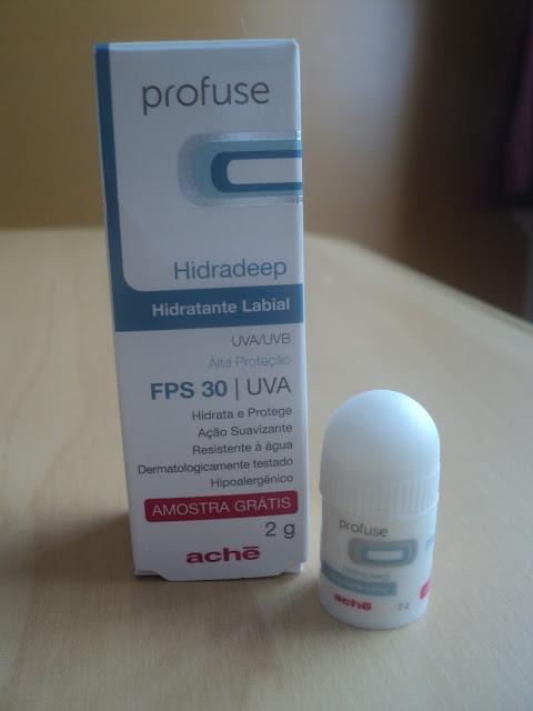 Hidradeep um Hidratante Labial marca Aché