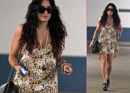 Vanessa Hudgens' Friday the 13th Feline Fashion » Gossip | Vanessa Hudgens