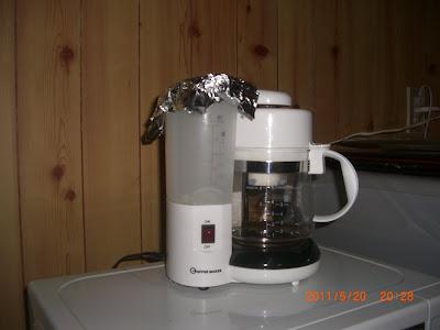 那須 別荘 のコーヒー メーカー
