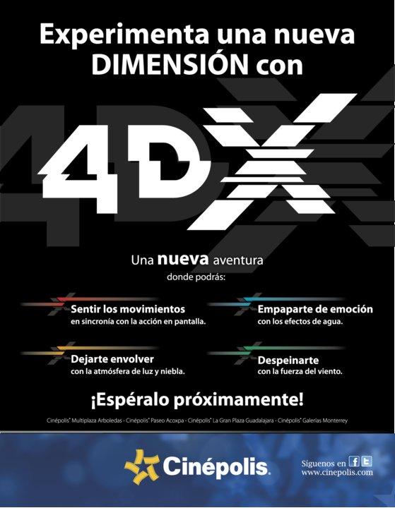 Lo mejor en mexico cine 4dx for Cinepolis paseo acoxpa