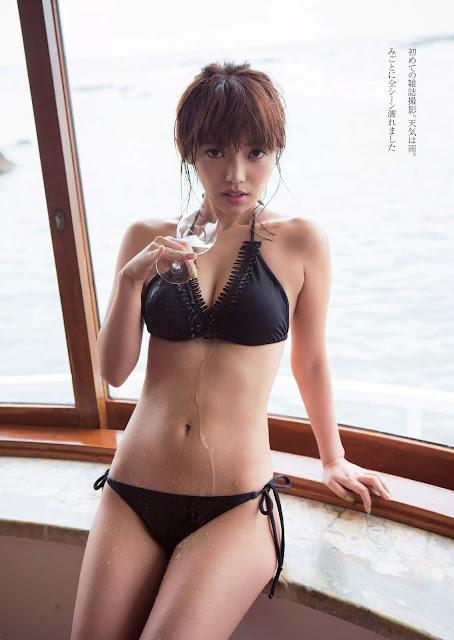 橘希 Tachibana Nozomi 週刊プレイボーイ Weekly Playboy Aug 2015 Photos 3
