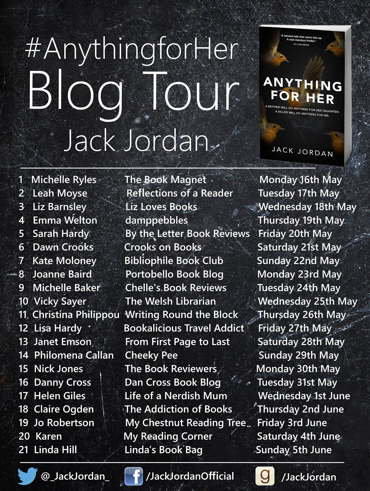 ANYTHING FOR HER BLOG TOUR
