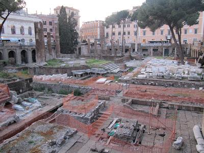 Area Sacra en Roma