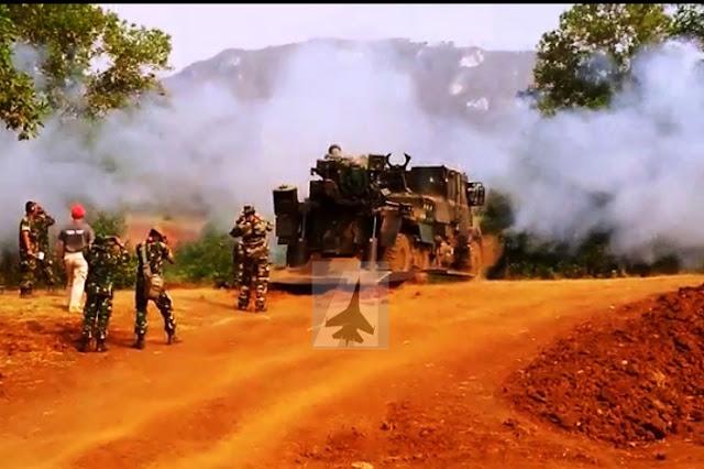 [Video] Tembakan Pertama Meriam Caesar TNI AD