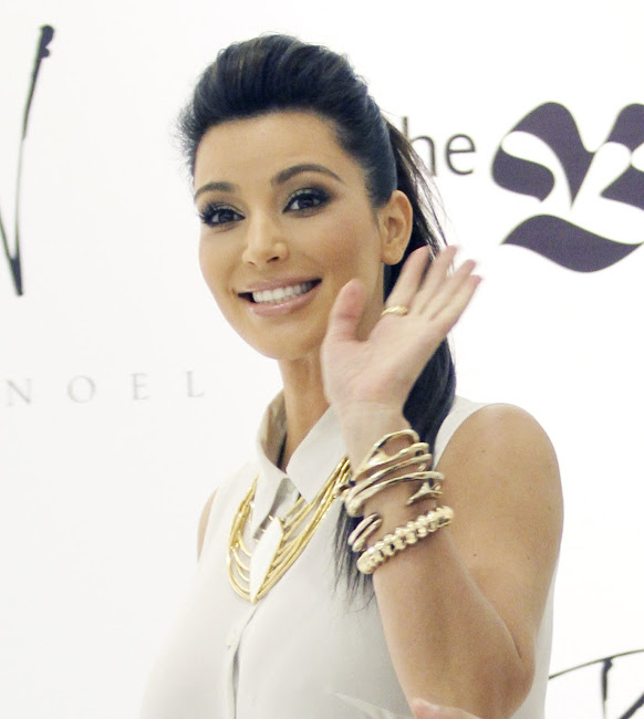 KIM KARDASHIAN photos from Belle Noel Jewelry Collection Promotion in Toronto