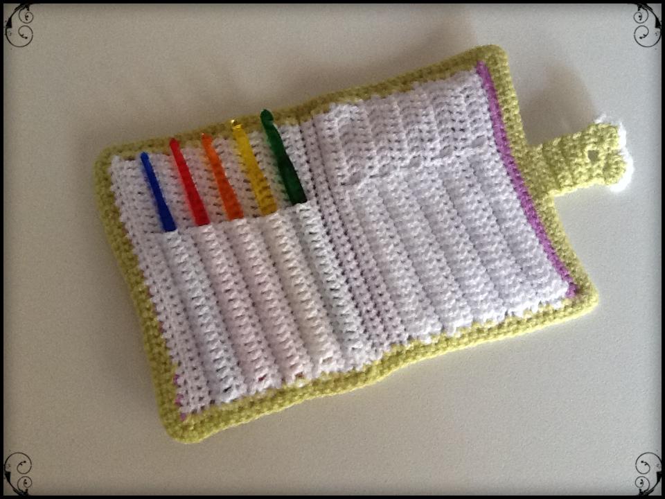Sweet dollies estuche para las agujas de crochet - Bolsa para guardar agujas de tejer ...