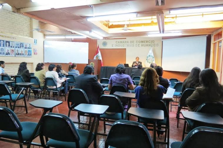 Evento con la Defensa Pública del MINJUSDH - Huánuco. Mayo 2013