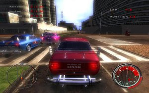 Communism Muscle Cars free USSR racing game for PC