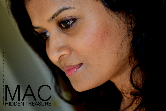 MAC Makeup Hidden Treasure Powder Blush Styleseeker Collection Indian Beauty Blog Reviews Swatches FOTD Looks Ingredients