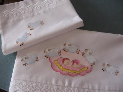 lençol com ovelhinhas