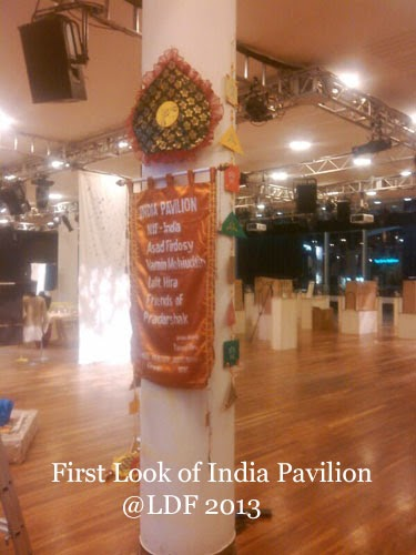 'India Pavilion' at the LDF-2013