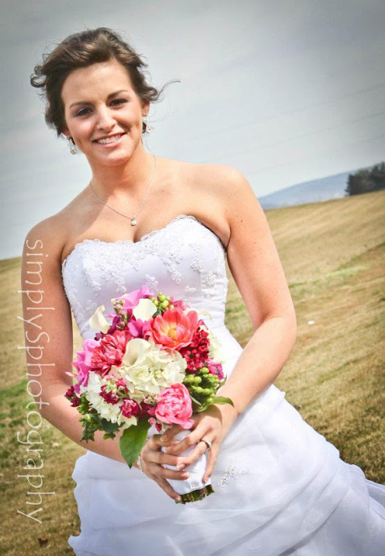 My pink life a wedding cameron brittany for Aimee weaver blogspot