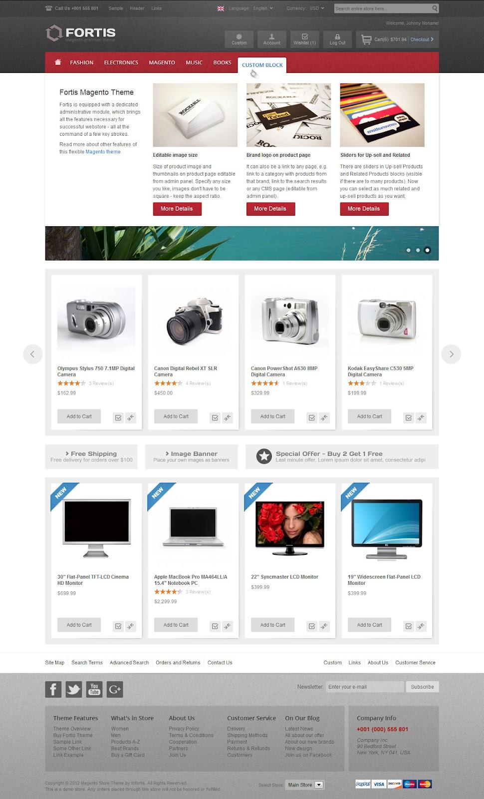 Free-Premium-eCommerce-flexible-Magento-Theme