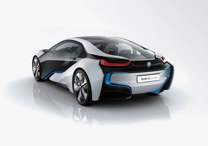 BMW i8 Concept Backside Look | ProLearners