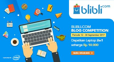 BLIBLI.COM BLOG COMPETITION INTEL 2IN1