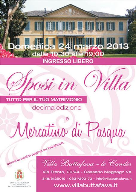 fiera sposi in villa marzo lombardia cassano magnago varese