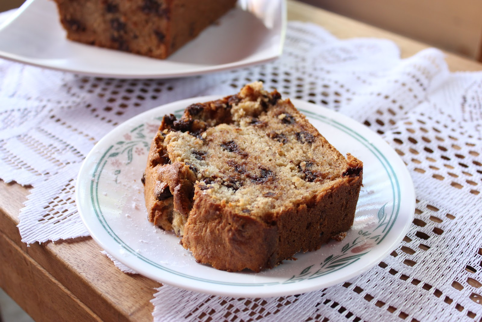 Sweet Frosting: Chocolate Chip Banana Bread