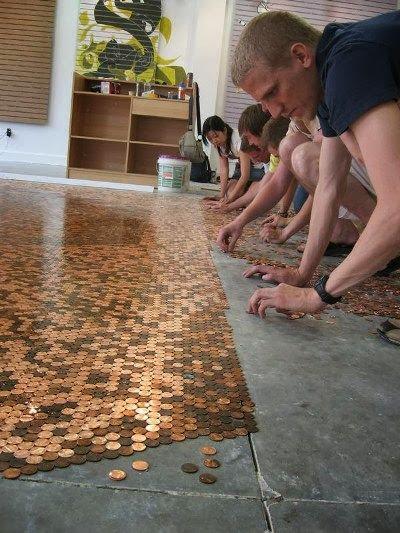 reaproveitar moedas decoração faça você mesmo reciclagem
