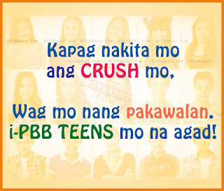 PBB Teens Funny Quotes and Pinoy Big Brother Teen Edition 4 Funny Sayings