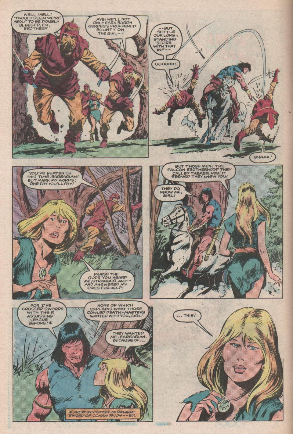 Conan the Barbarian (1970) Issue #171 #183 - English 5