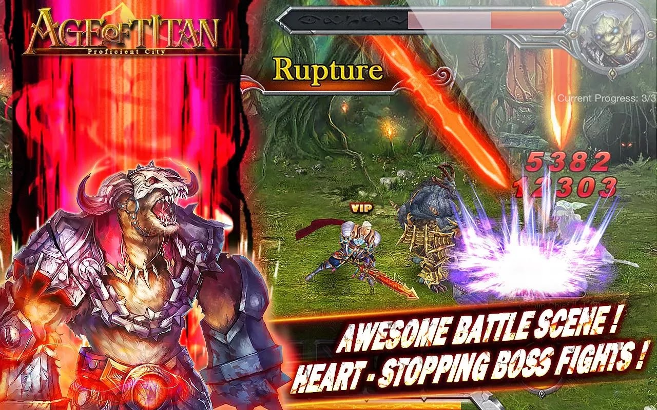 Age of Titan RPG Android Game apk
