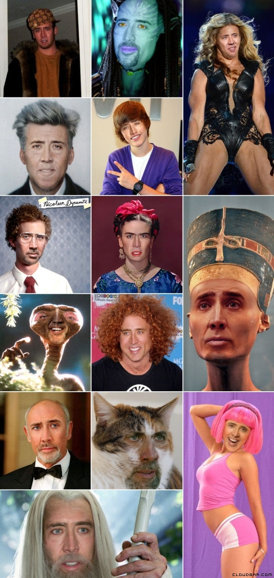 Nicolas Cage, Nicolas Cage everywhere
