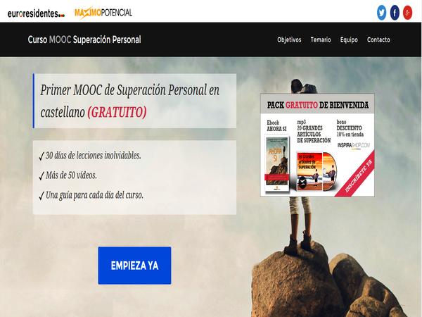 Primer MOOC de Superación Personal en castellano