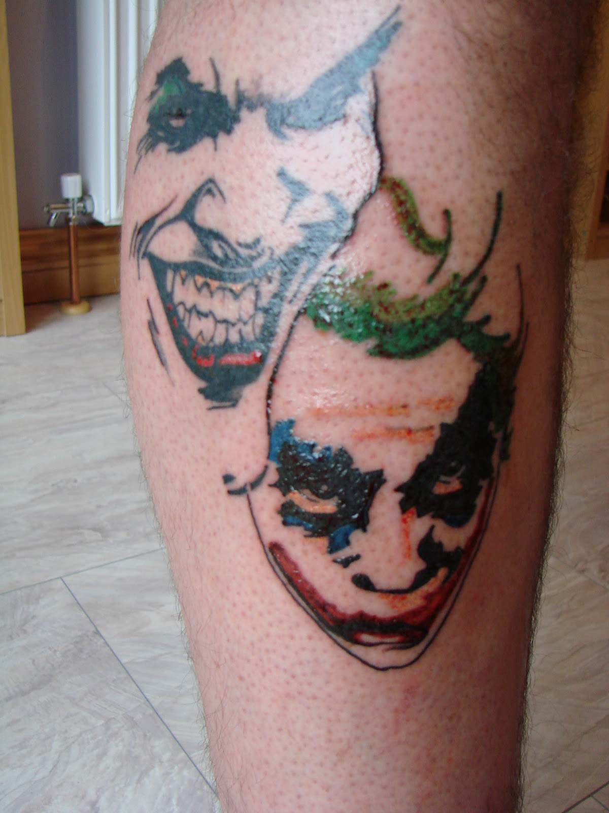 Best tattoo area joker tattoo for Home by johker design