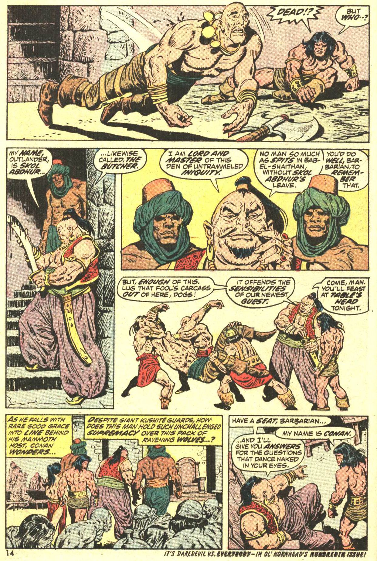 Conan the Barbarian (1970) Issue #27 #39 - English 11