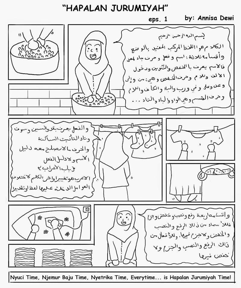Dilema Hapalan Jurmiyah (Behind The Scene Komik Nahwu)
