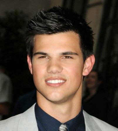 Taylor Lautner Male Celebrity Hairstyles