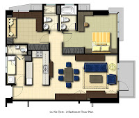 La Vie Flats Alabang, 2-Bedroom Unit, Condominium for Sale in Alabang, Filinvest