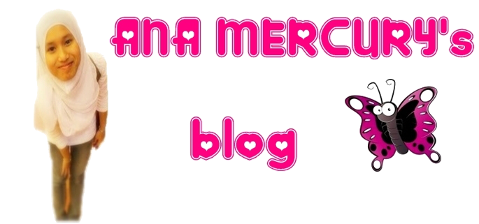 ana mercury's blog