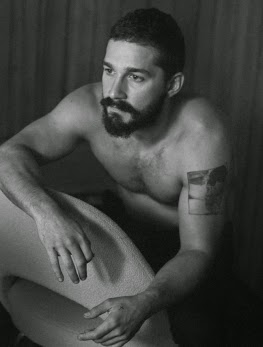 """I became a Christian man."" says Shia LaBeouf."