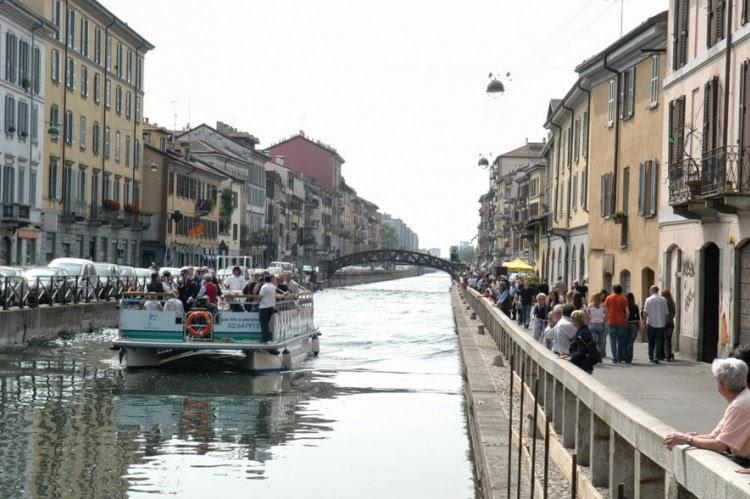Eco a proposito di canali o vie d 39 acqua in europa for Vie di milano